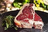 T-Bone Steak vom Wagyu Rind, Dry Aged Gesamtgewicht 1388