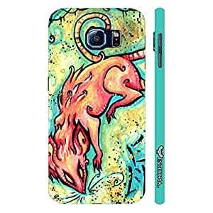Samsung Galaxy S6 CHINESE ZODIAC RAT designer mobile hard shell case by Enthopia