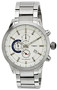 Timex E-Class Analog Silver Dial Men's Watch - TW000Y400