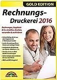 Rechnungsdruckerei 2016 - Rechnungen, Angebote, Mahnungen, Gutschriften schreiben - keine zeitliche Begrenzung