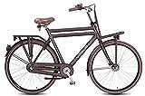 71,12 cm Nostalgia per bici bicicletta olandese da uomo in alluminio Vogue Elite più 3 marce Roller brake marrone opaco RH: 50 cm