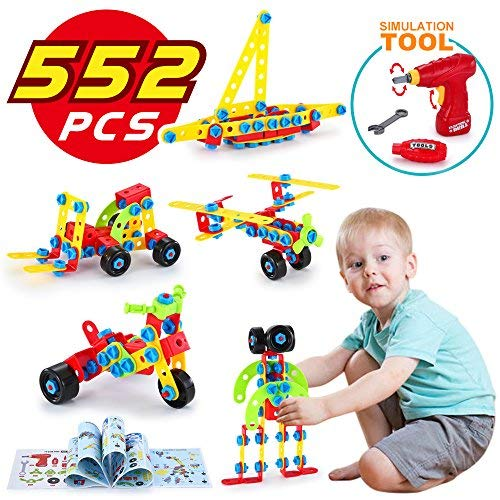 LUKAT Bloques de Construcción, Juguetes para Niños de 5,...