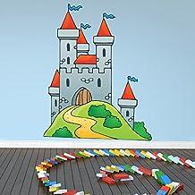 Reyes Castillo vinilos decorativo Caballero Fantasía adhesivos pegatina pared Chicos Dormitorio Decoración Disponible en 8 Tamaños XX-Grande Digital