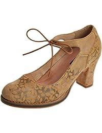 Neosens S278 Fantasy Floral Wood/Baladi, Zapatos con Correa de Tobillo Para Mujer