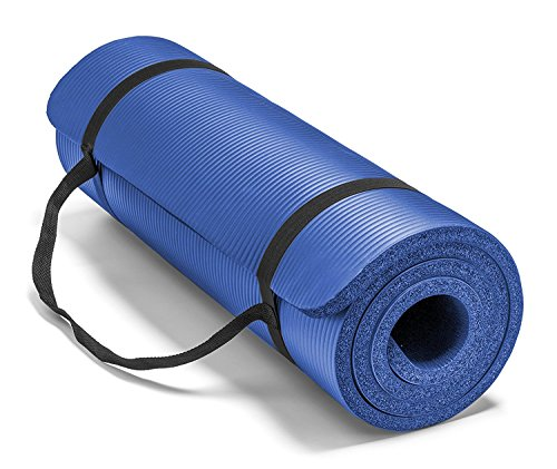 The True Mat 10mm Extra Thick NBR Foam Yoga Mat (10mm
