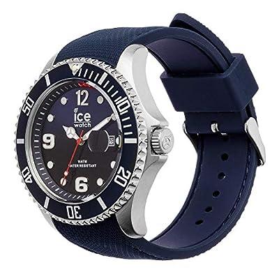 Ice-Watch - Ice Steel Marine - Reloj Azul para Hombre con Correa de Silicone - 15774 (Large) de Ice-Watch