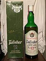 Talisker TD 12yo old bottle 1970s with case (low level) 75cl by Talisker