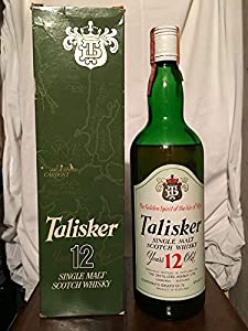 Talisker TD 12yo old bottle 1970s with case (low level) 75cl by Talisker