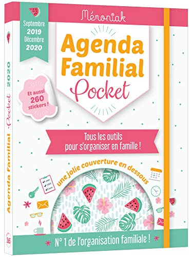 Agenda familial pocket Mémoniak