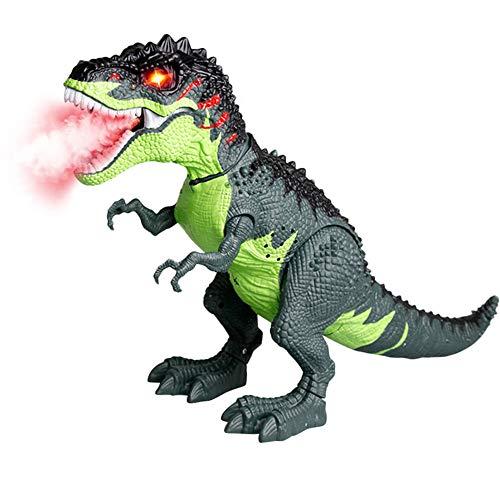 Cooljun Hot LED leuchten und gehen realistische Dinosaurier mit Sound und realistischen Sounds, Dinosaurier Spielzeug für Kinder, ()
