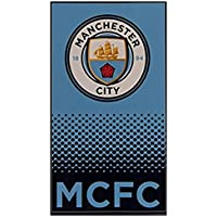 Manchester City FC Football Club 100% Cotton Quick Dry Beach And Bath Towel