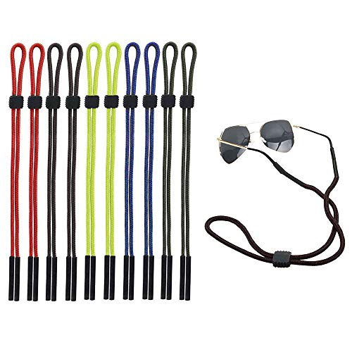 xinxun xinxun 10 Pcs Brillen Halter Gurte, Safty Brillen Hals Schnur String Brillenbänder Brillenkordel Retainer für Sport und Outdoor-Aktivitäten-Kid, Männer, Frauen