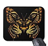 Yanteng Flying-20170725 Nuovo Mouse Pad personalizzato Butterfly Tiger antiscivolo in gomma Gaming Mouse Pad