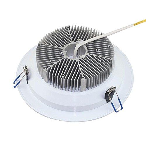 KHEBAG-Led-Empotrable-Downlights-lampara-de-techo-Dimmable-50W-Color-Neutra-4000K-equivalente-a-330W-bombillas-incandescentes