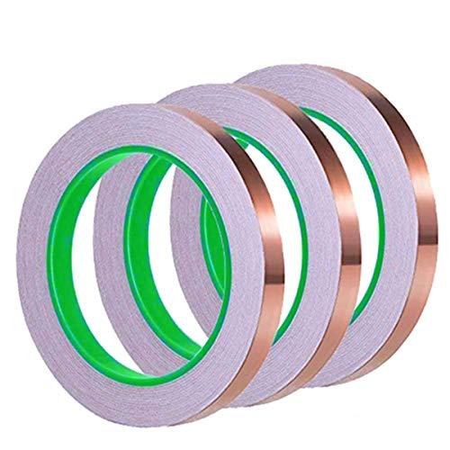 Yakamoz una capa de cobre cintas, conductor de doble cara adhesivo para...