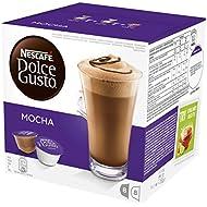 NESCAFÉ Dolce Gusto Mocha Coffee Pods, 16 Capsules (8 Servings)