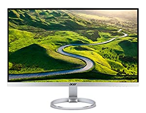 "Acer H277HUsmipuz Monitor da 27"", Display IPS, Formato 16:9, Risoluzione 2560 x 1440, Luminosità 350 cd/m2, Tempo di risposta 4 ms, HDMI 2.0, DP, USB3.1 Type C + USB3.0 Hub, Speaker Integrati, Silver"