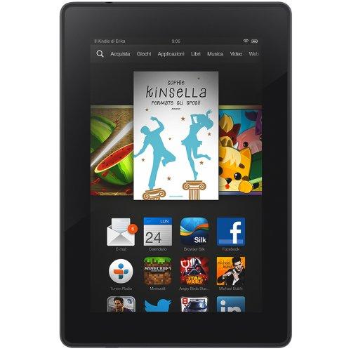 """Foto Kindle Fire HD 7"""", schermo HD, Wi-Fi, 8 GB - Con offerte speciali (Generazione precedente - 3ª)"""