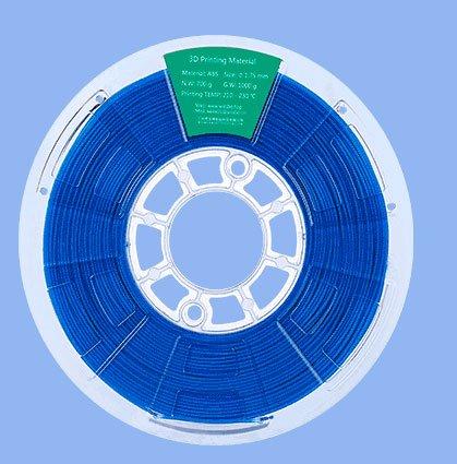 Filamento ABS 1000g 1,75mm para impresoras 3D (Azul Marino)