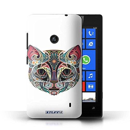 Hülle Case für Nokia Lumia 520 / Katze Entwurf / Deko-Tiere Collection Katze