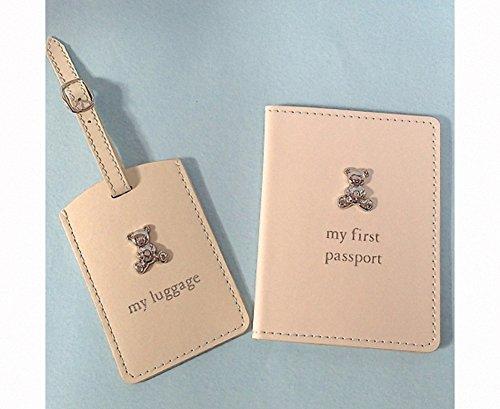 BABY GIFTS/Baby Misc Bambino PU passeport et étiquette de bagage. Excellent dragées de mariage, cadeaux d'anniversaire, Baby Shower cadeaux, Noël et bien plus encore.