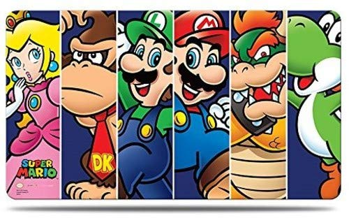Amigo Spiel + Freizeit Super Mario: Mario & Friends Playmat with PlaymatTube
