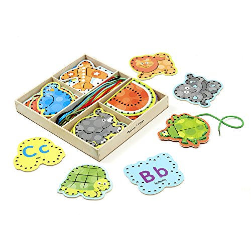 Alphabet Lacing Cards: Skill Builders - Lacing Activities