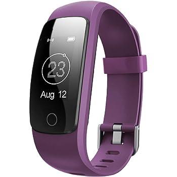Willful Montre Connectée, SW331 Bracelet Connecté Fitness Tracker d'Activité Montre Cardio Sport avec Cardiofréquencemètre,Sommeil,Podomètre,Calories,Mode Multi-Sport pour iPhone Android Femme Homme
