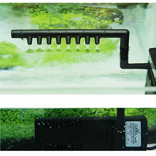 maxcrest (TM) 3in 1Elektrischer Innenfilter Multifunktionale Wasser Pumpe für Aquarium Aquarien...