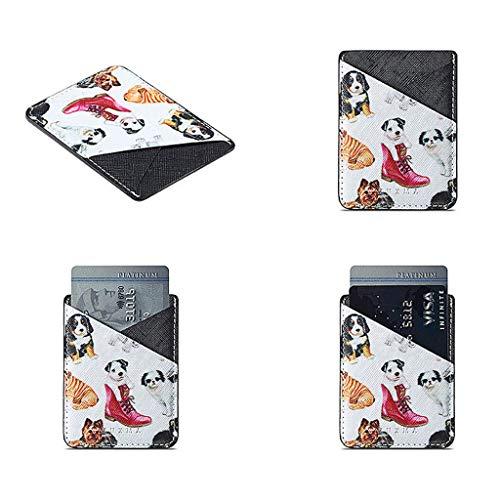 Lamdoo Universal Wallet Kreditkarte Aufkleber Klebehalterung für Handy 09# 04#