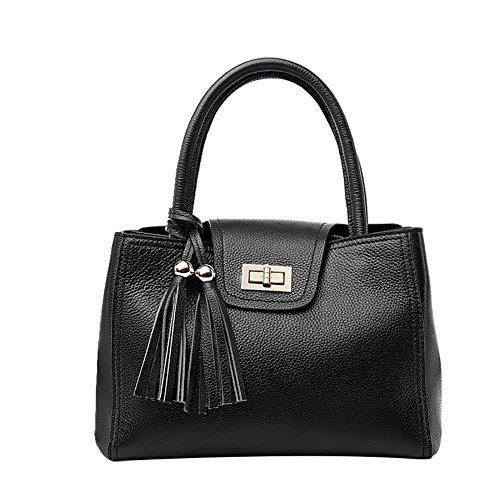 Mena UK-femmes simple cuir artificiel en cuir souple sac à main / épaule / Messenger Bag / sac de moto