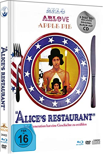 Alice`s Restaurant - Limited Deluxe Mediabook-Edition (Blu-ray+DVD+CD+Booklet)