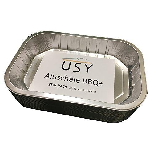 usy Aluschale BBQ+ passend für div. Weber Grills (25er Set)