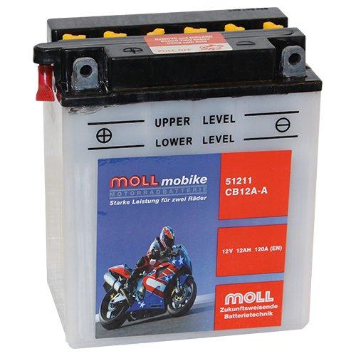 Moll mobike Motorradbatterie CB12A-A 12Ah 12V 120A - 51211SM