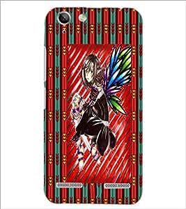 PrintDhaba Sweet Girl D-3084 Back Case Cover for LENOVO LEMON 3 (Multi-Coloured)
