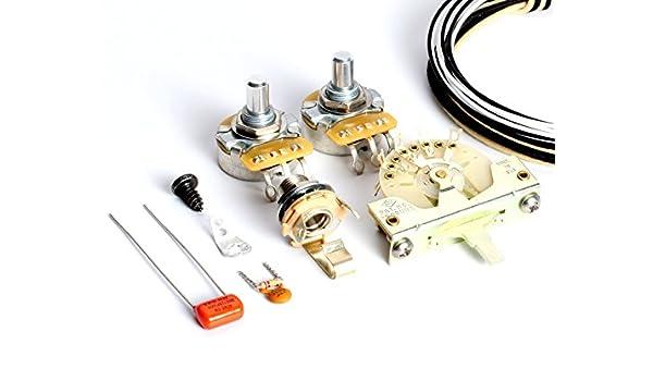 ToneShaper Verkabelungsset für Fender Telecaster, SS1 (moderne ...