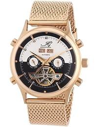 Ingraham Herren-Armbanduhr XL Marrakesh Analog Automatik Edelstahl beschichtet IG MARR.1.223307
