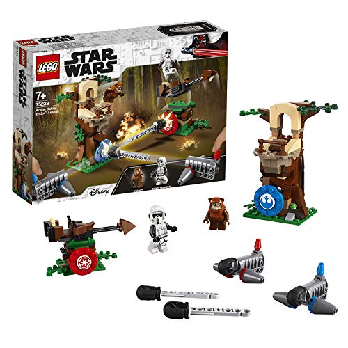 LEGO Star Wars 75238 Action Battle Bauset Bunt (Lego Minifiguren Ewok)