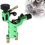 Tatuaggi Rotativa Del Tatuaggio Mitragliatrice Tattoo 11000rpm Rotary Machine Professionale Strumento di Trucco Artista Cavo (Verde)