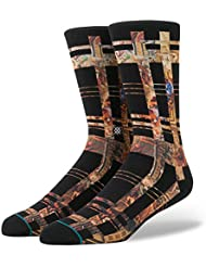 Stance Almighty Socks - Black Large