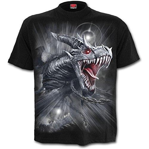 Spiral - DRAGON'S CRY - Männer Kurzärmeliges T-Shirt (S)