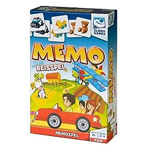 Clown Games 0607155 Niños Juego de Mesa de Aprendizaje - Juego de Tablero (Juego de Mesa de Aprendizaje, Niños, Niño/niña, 3 año(s), 112 mm, 43 mm)