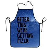 Estrange After This We're Getting Pizza BBQ Kitchen Cooking Apron