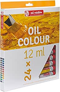 ROYAL TALENS Set de 24 Peintures à l'huile ArtCreation Expression 12ml