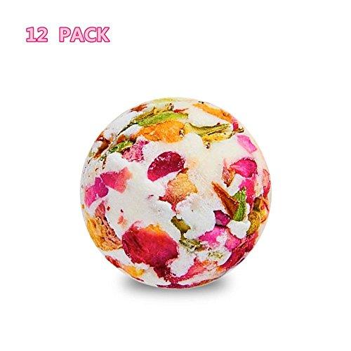 �sische Rosenbad Bomben Geschenk-Set Bio-und Naturbad Bomben-Kit Perfekt Für Bubble & Spa-Bad Geschenke Für Frauen Mama Mädchen Teenager Kinder, 12 * 70G ()