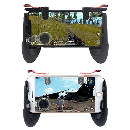 KOKOBUY 1 Paar Handy-Gamecontroller Schießen, Zielen Auslöser, Feuertaste schwarz schwarz -