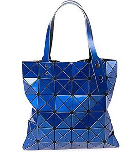 88235dce6dafc Weibliche Tasche Sorte Falten Umhängetasche Handtasche Geometrie Lingge  Laser Handytasche E