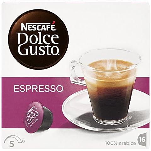 Nestle 'espresso' for Dolce Gusto coffee capsules (16