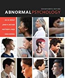 Abnormal Psychology Plus New Mylab Psychology -- Access Card Package