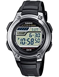 Casio Collection – Reloj Hombre Digital con Correa de Resina – W-212H-1AVES